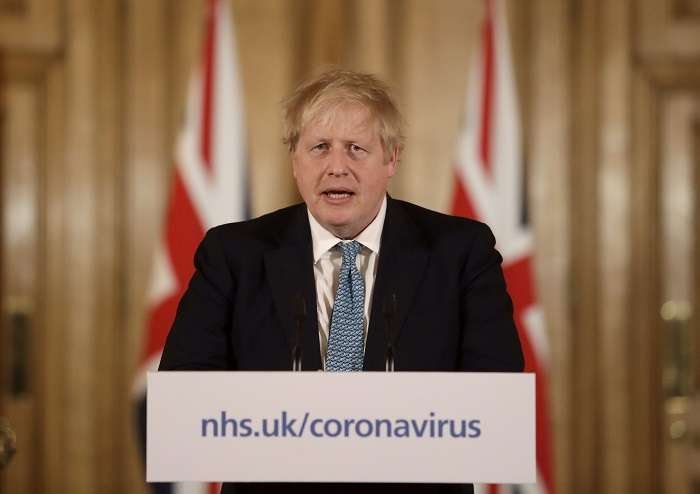 Boris Johnson. /AP