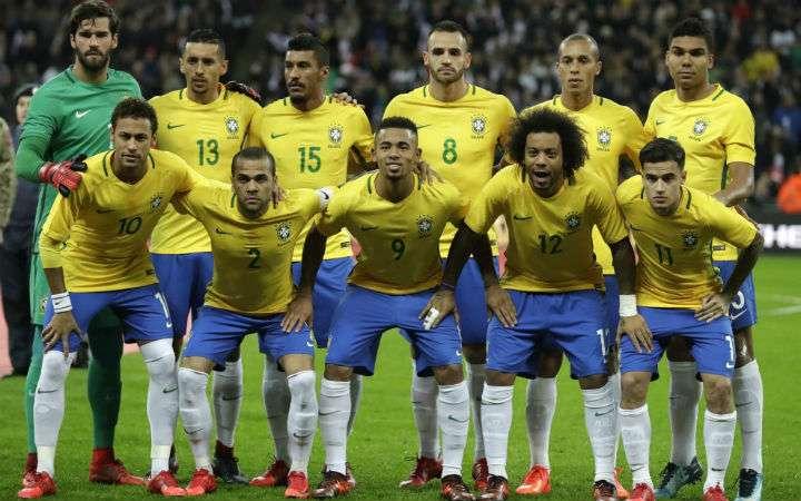 Brasil es una de las selecciones favoritas para alzar la Copa Mundial de la Fifa 2018 en territorio ruso. Foto AP