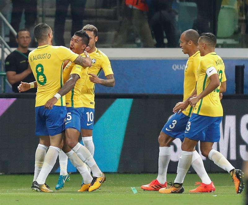 Brasil ha ganado tres partidos y empatado uno en el Mundial de Rusia 2018.