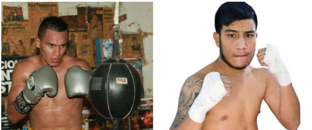 """Bryan """"La Roca"""" De Gracia (izq.) y su nuevo oponente, Eduardo """"El Zurdito"""" Ramírez."""