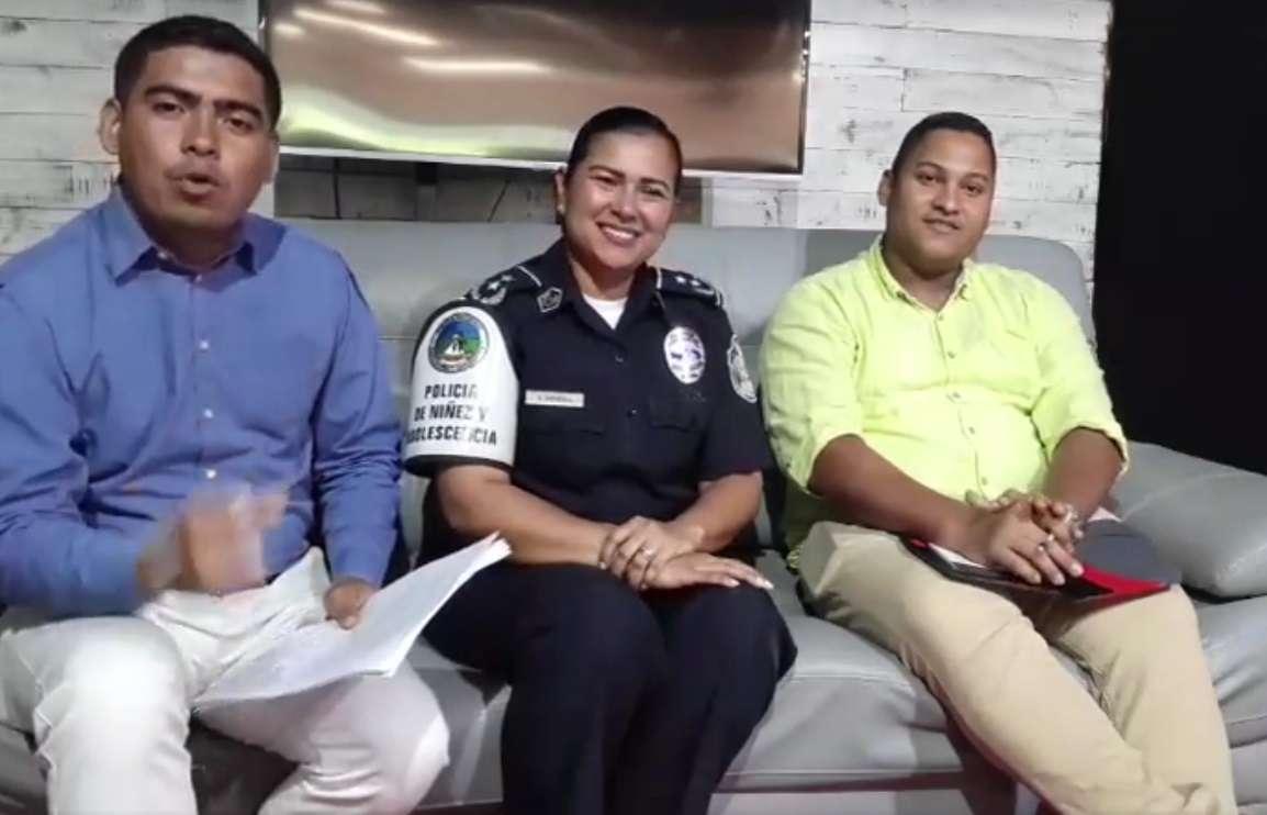 Entrevista a la subcomisionada Yesenia Pineda de la Policía de Niñez y Adolescencia.