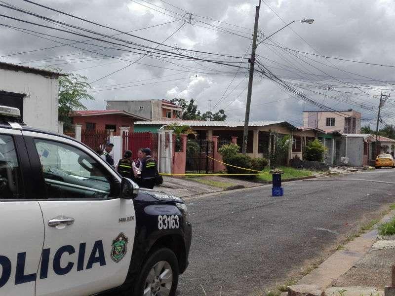 Vista general de la casa en donde reside la familia del infante raptado. Foto: Eric Montenegro