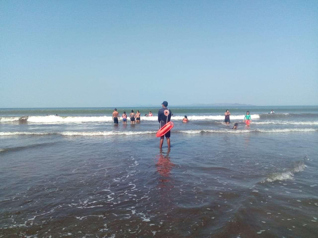 Vista general de  Playa Coco Beach en Manaca, distrito de Barú en la provincia de Chiriquí, donde desapareció el joven. Foto: Mayra Madrid