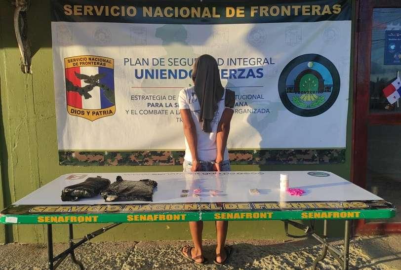El nacotraficante criollo fue ubicado este domingo durante un patrullaje preventivo.