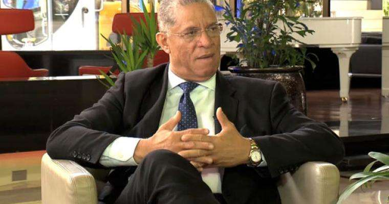 Camilo Alleyne, precandidato presidencial del opositor Partido Revolucionario Democrático.