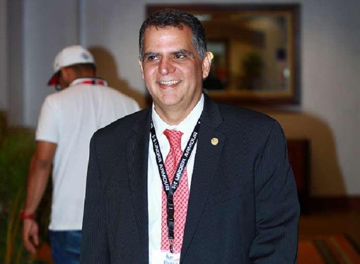 Camilo Amado, presidente del Comité Olímpico de Panamá. Foto:Anayansi Gamez