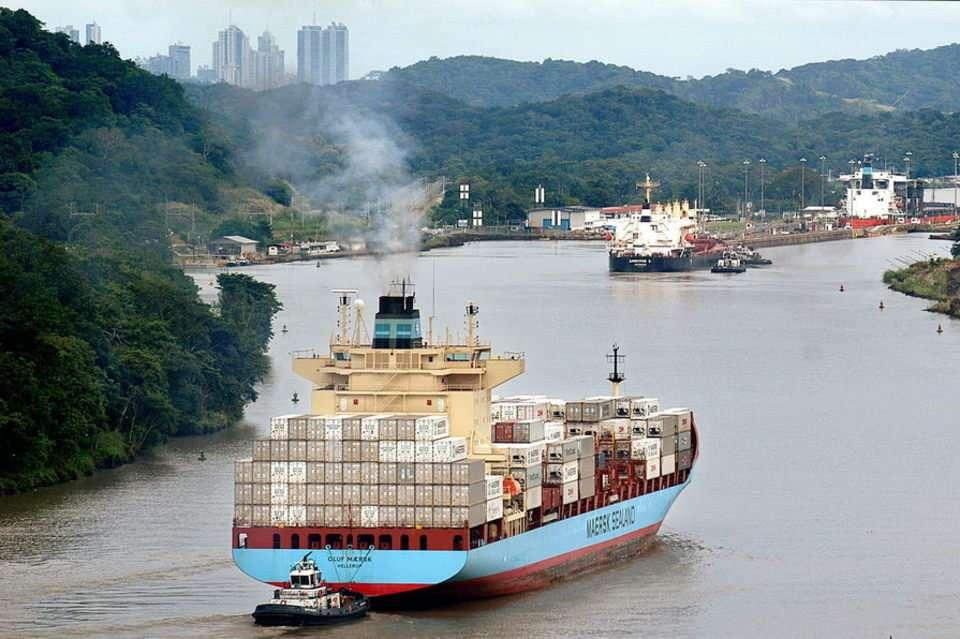 Vista general del Canal de Panamá. Foto: EFE Archivo