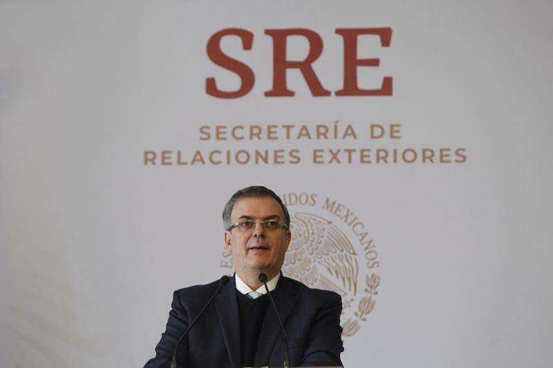 En la imagen, el canciller de México, Marcelo Ebrard. EFEArchivo