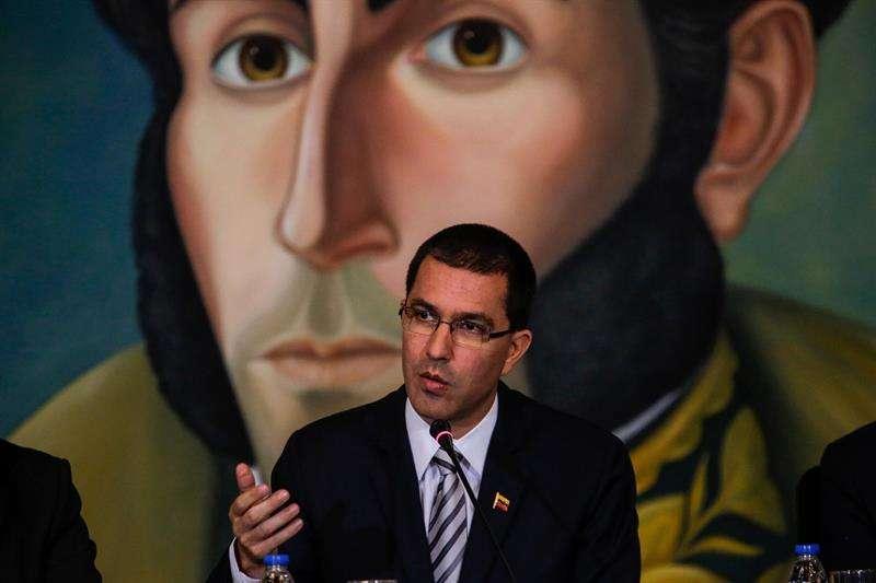 El canciller de Venezuela, Jorge Arreaza. EFEArchivo