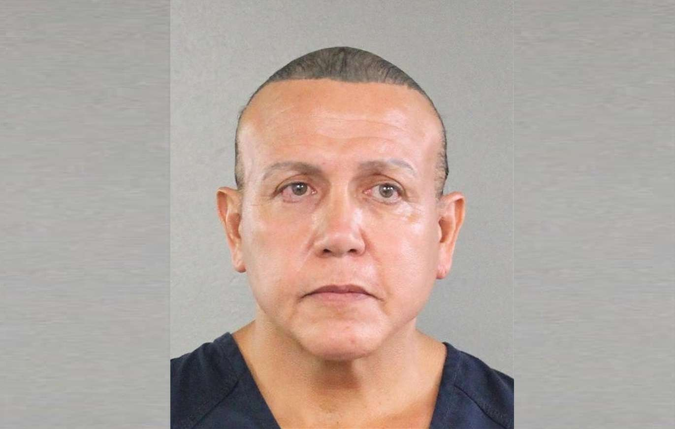 Fotografía cedida por la Oficina del Sheriff de Broward que muestra a Cesar Altieri Sayoc, en agosto del 2015. EFE