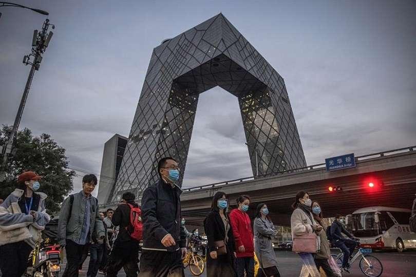 La economía china registró en el tercer trimestre del año un crecimiento del 4,9 %. EFE