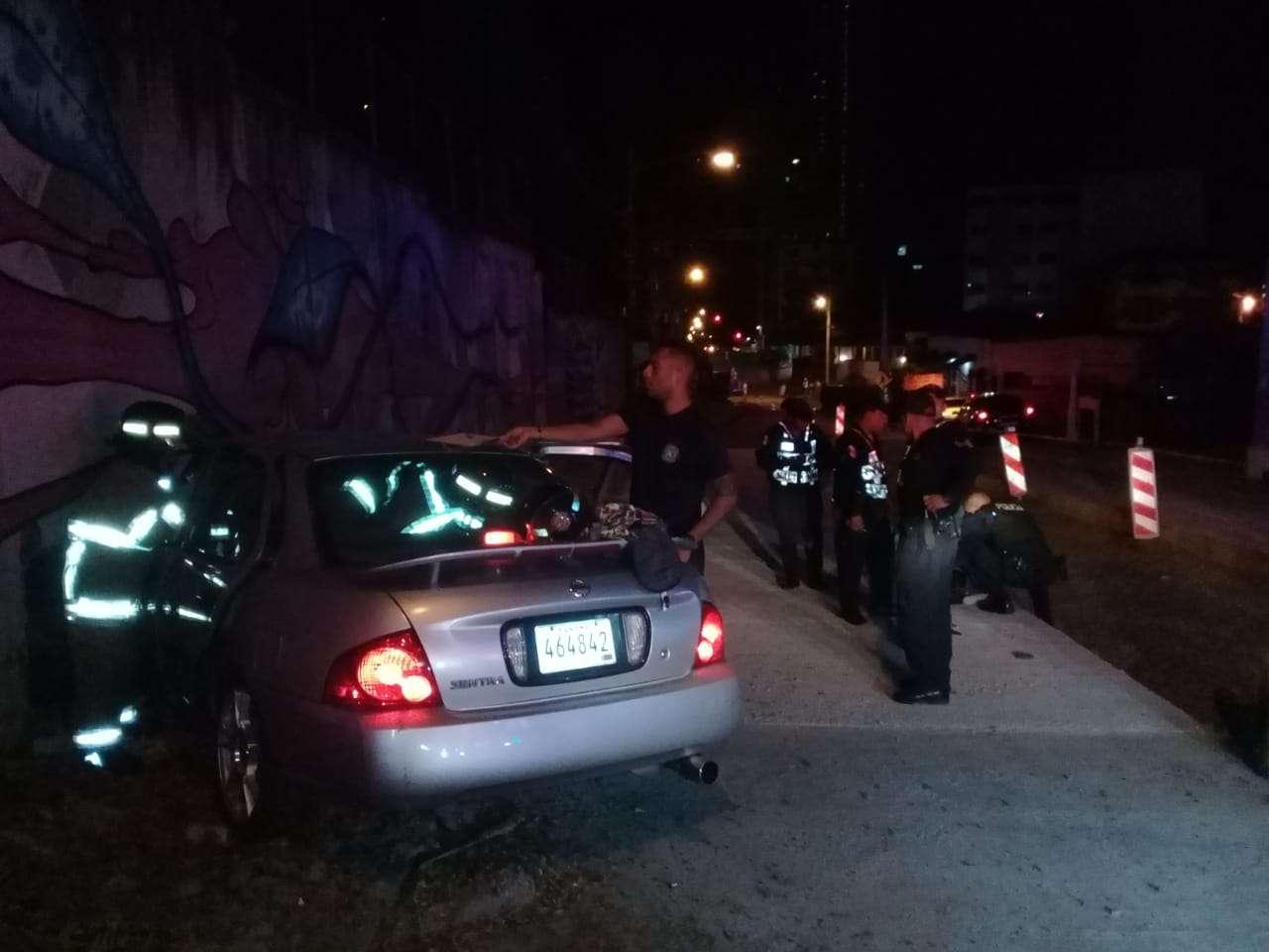 Vistas de la escena del accidente. Foto: Félix Corella.