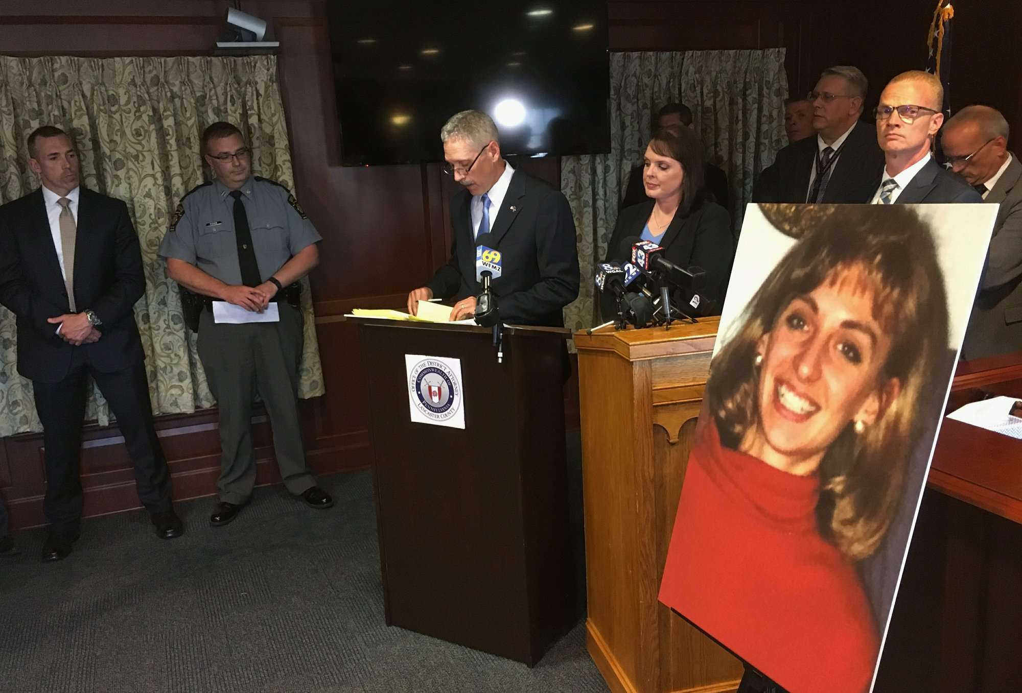 Christy Mirack, maestra asesinada en 1992. Foto: AP