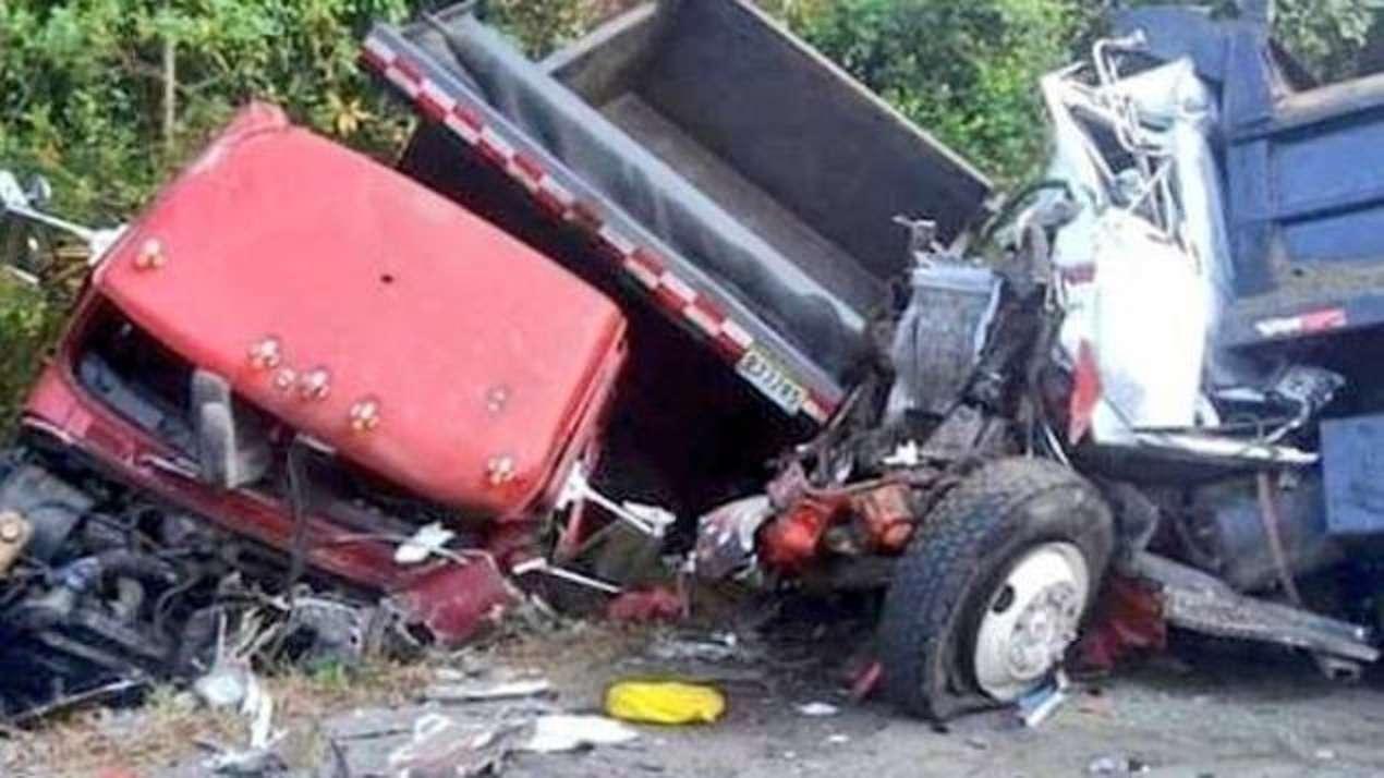 Vista general del accidente en Salud, costa abojo de Colón. Foto: Delfia Cortez