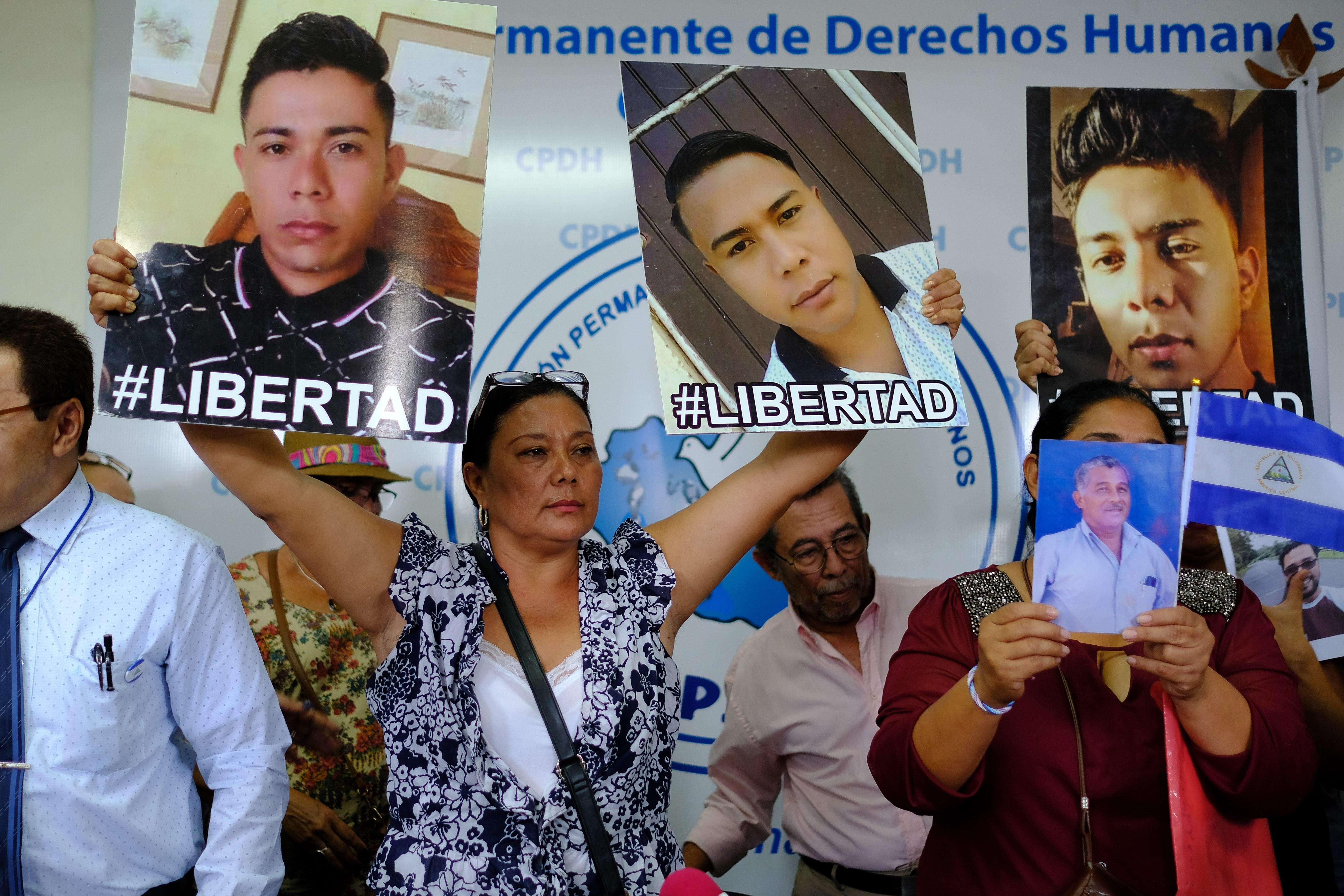 """El canciller nicaragüense, Denis Moncada, ha insistido en que el Gobierno dará libertad a los que califica como """"terroristas"""", """"golpistas"""" o """"delincuentes comunes""""."""