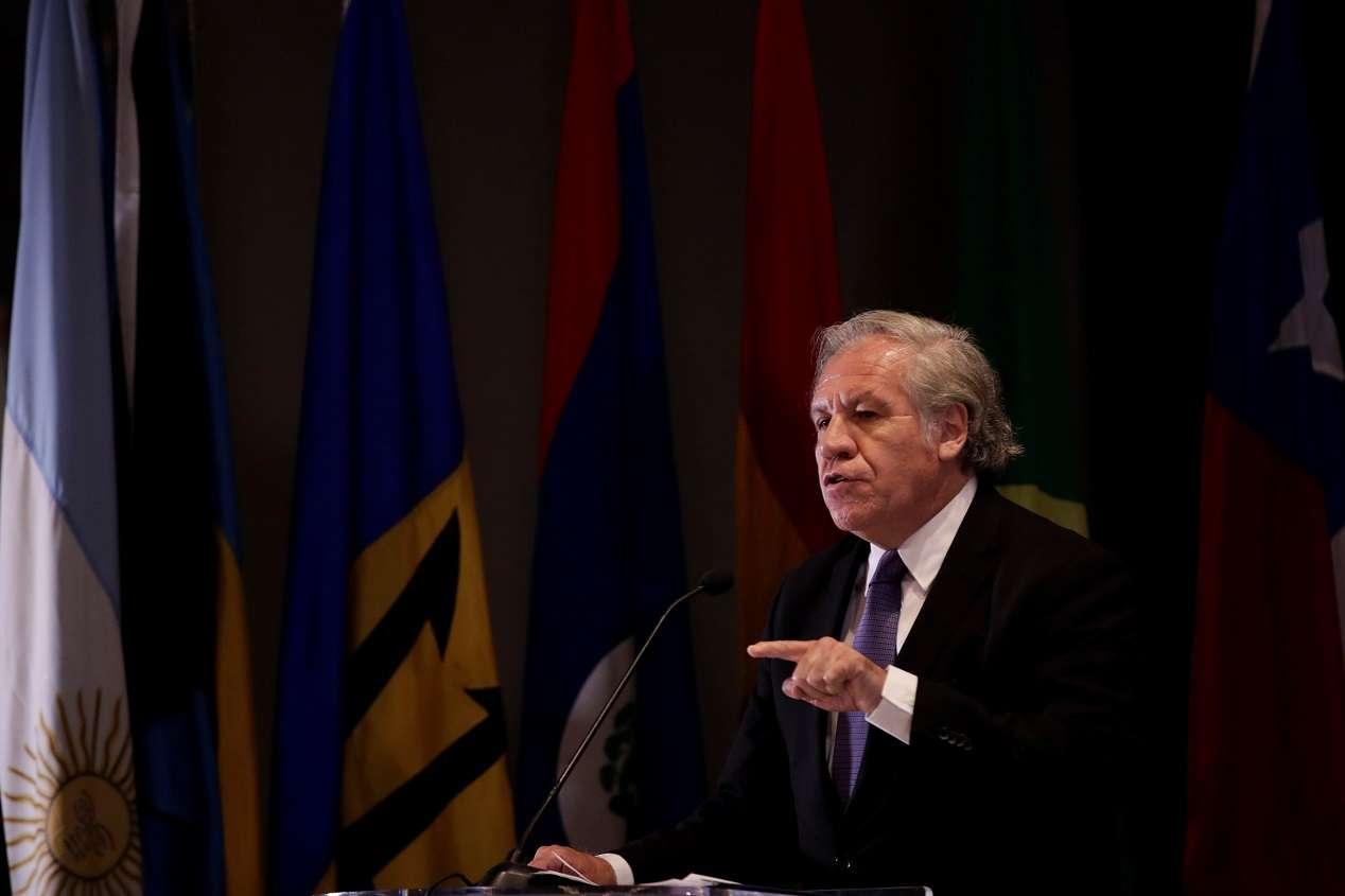 Secretario general de la Organización Estados Americanos (OEA), el uruguayo Luis Almagro. EFE