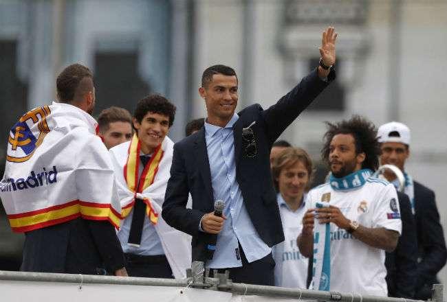 El astro portugués Cristiano Ronaldo. Foto: EFE