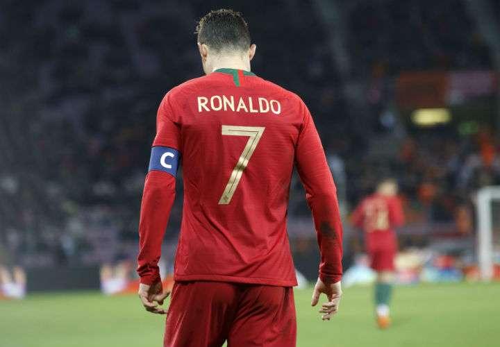 Cristiano Ronaldo anotó cuatro goles en el Mundial de Rusia 2018. Foto EFE
