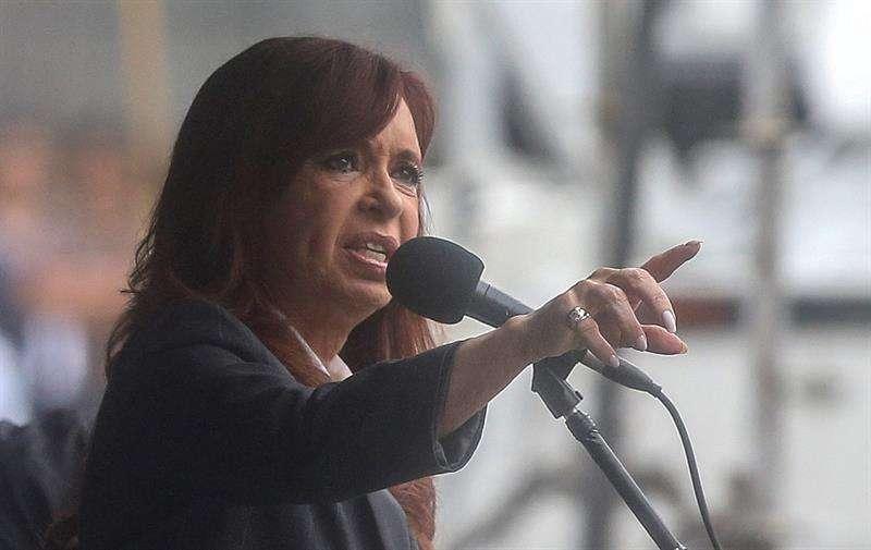 La expresidenta argentina Cristina Fernández de Kirchner. EFE/Archivo
