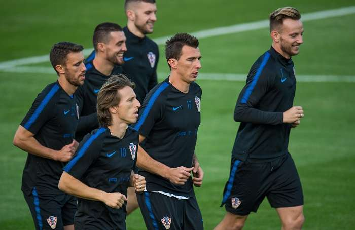 Los croatas se medirán el domingo a Francia durante la final en Moscú.