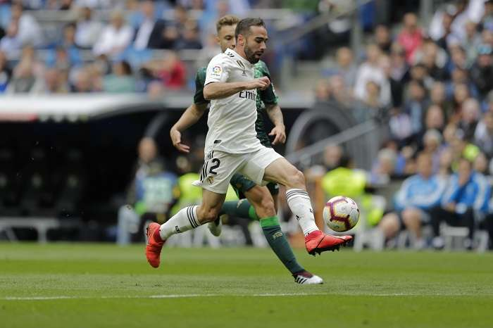 Dani Carvajal, defensor del Real Madrid. / Foto: AP