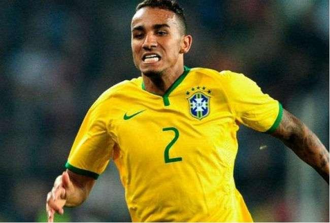 El jugador brasileño  Danilo Luiz da Silva.