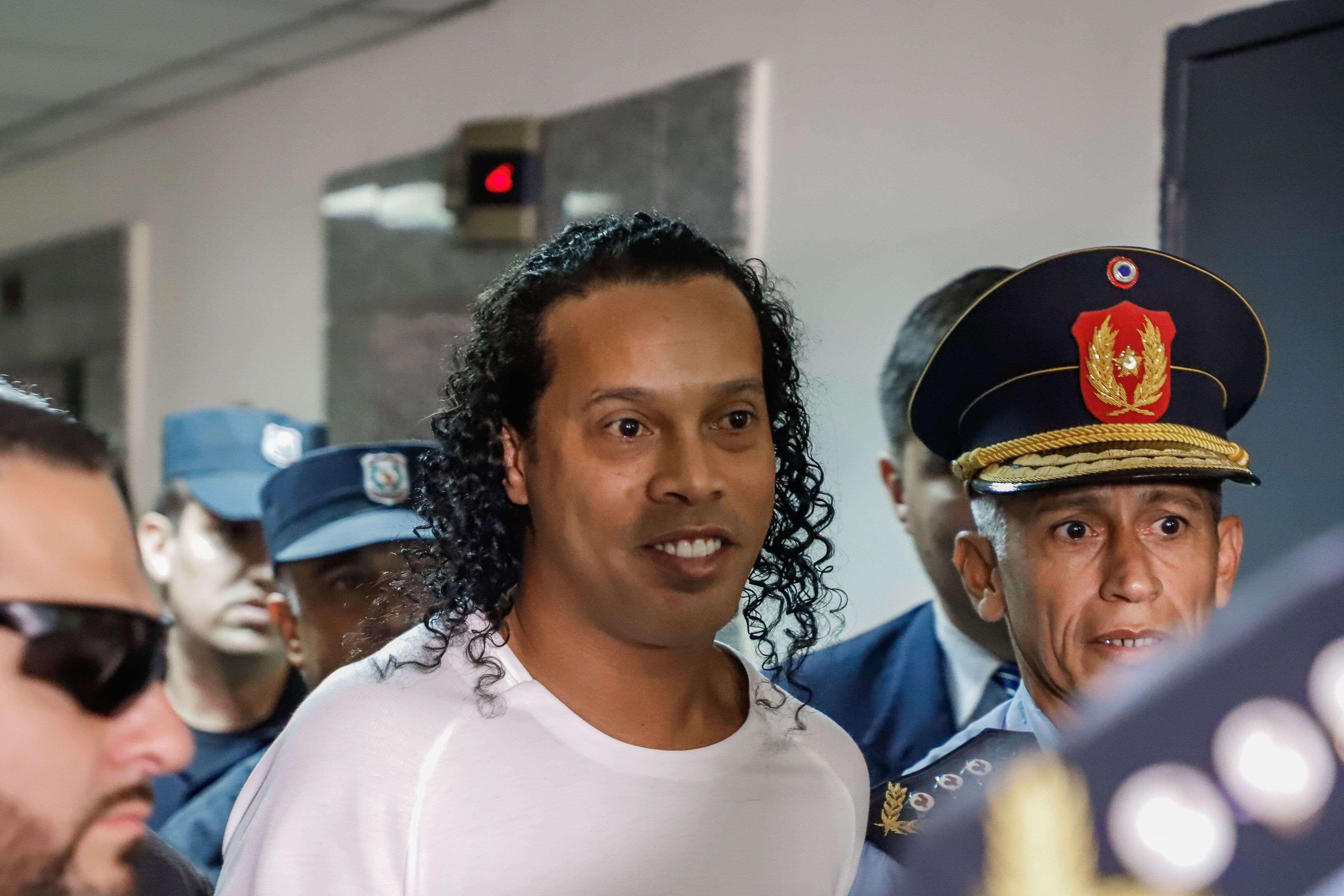 Ronaldo de Assis Moreira, Ronaldinho. Foto: EFE