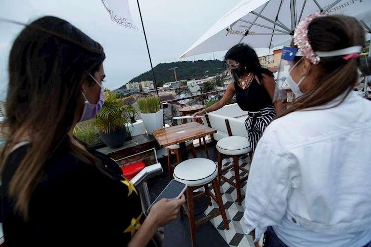 Los restaurantes reabrieron a partir del lunes 28 de septiembre.