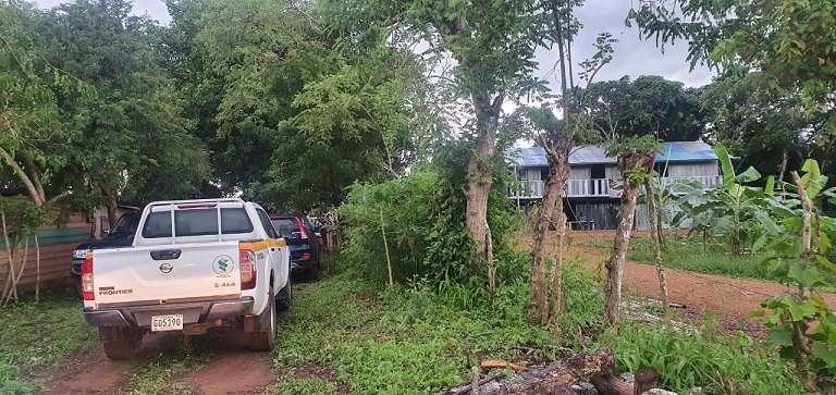 Se logró ubicar un sitio donde se realizaban peleas de gallos en una propiedad privada cerca a orillas del Río La Villa.