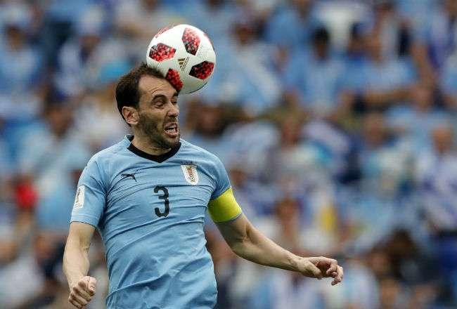 El jugador uruguayo Diego Godin. Foto: AP