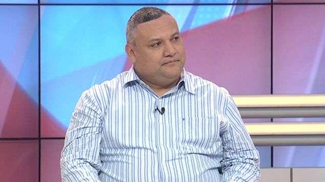 Diógenes Sánchez, secretario general de la Asociación de Profesores de de la República de Panamá. Foto: Telemetro