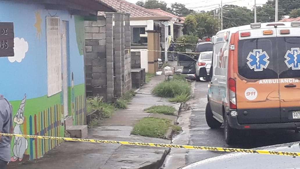 Vista general de la escena del crimen. Foto: Landro Ortiz