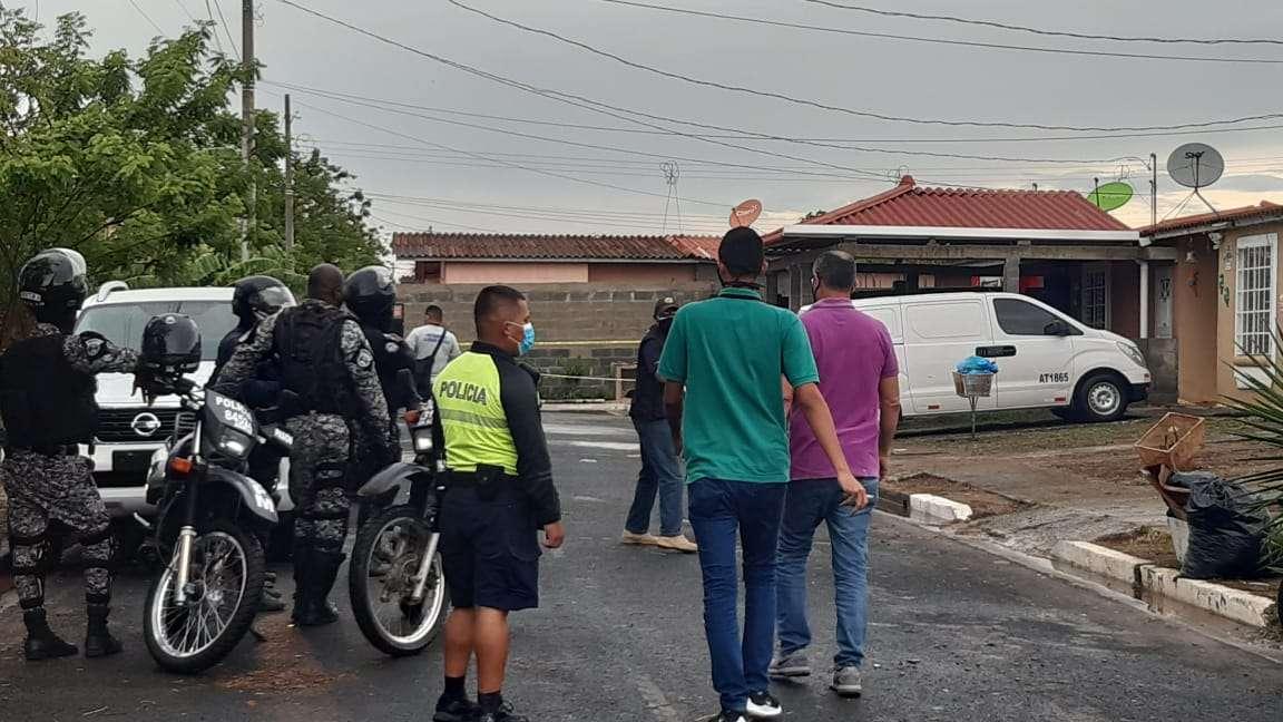 Escena del crimen. Foto archivo: Edwards Santos