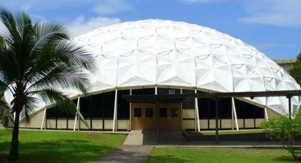 Vista general de la parte externa del domo de la Universidad de Panamá.  Foto: siempreeventos.com