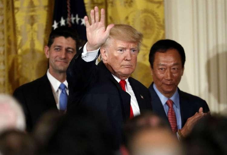 El presidente de los Estados Unidos, Donald Trump. Foto: AP