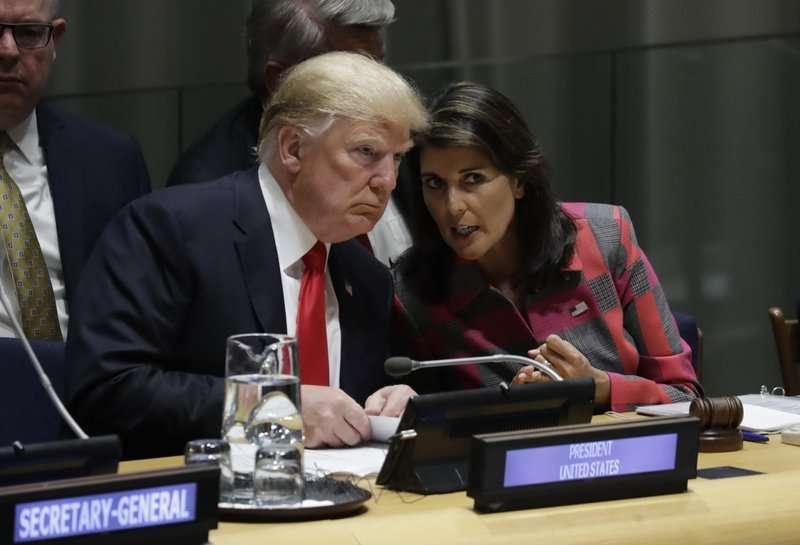 La amenaza nuclear estuvo en la agenda en la primera reunión de Trump en Nueva York, una cena con el primer ministro japonés Shinzo Abe en Manhattan el domingo por la noche. AP