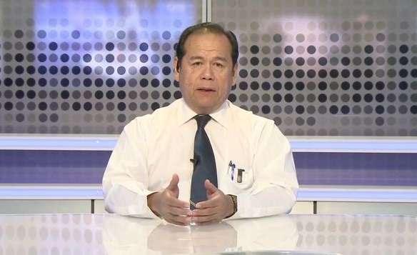 El Dr. Julio Osorio, dirigente de la Comisión Médica Negociadora Nacional (Comenenal). Foto: Telemetro