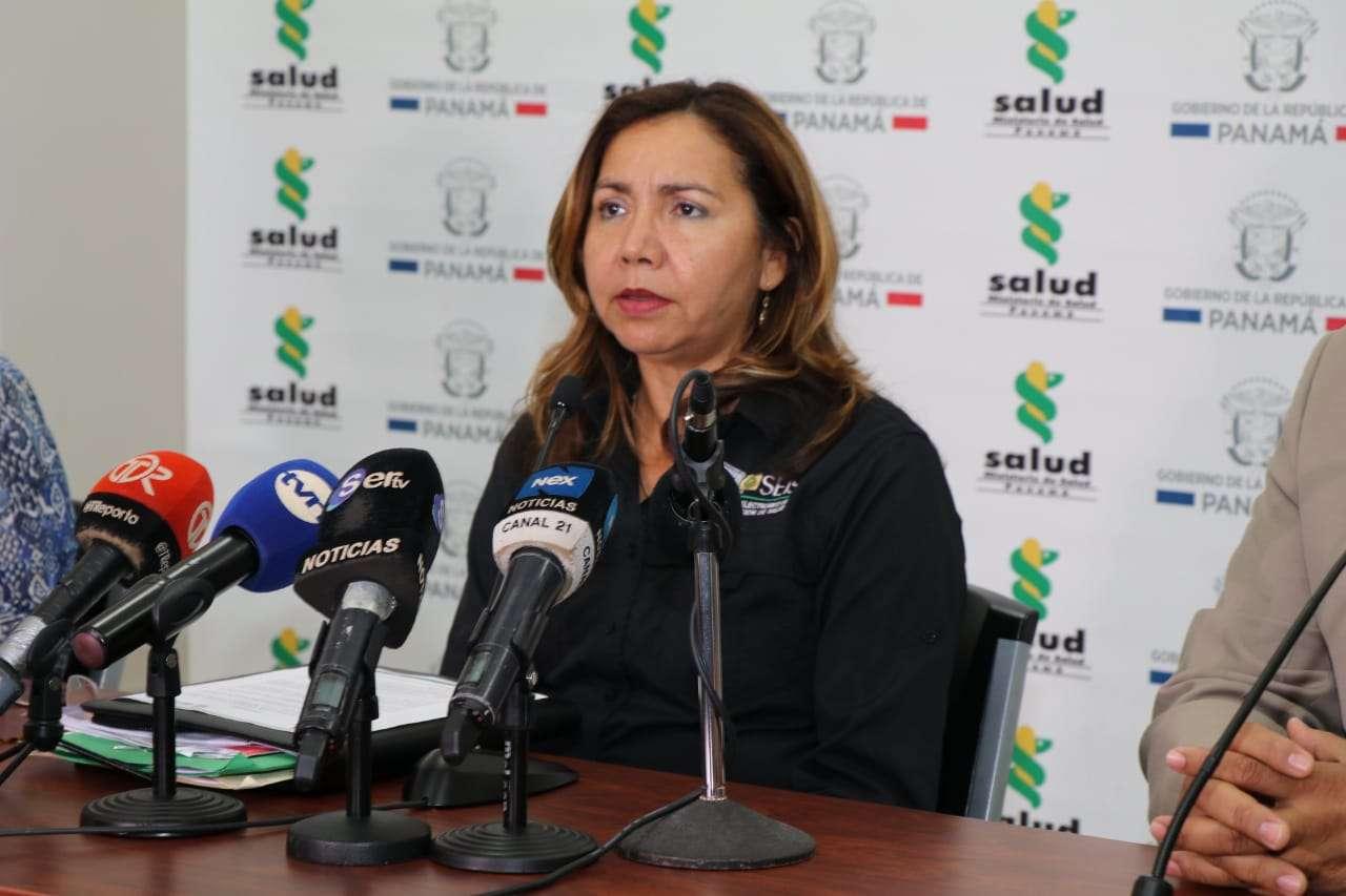 Dra. Itza Barahona de Mosca. Directora General de Salud del Minsa.