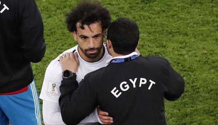 Mohamed Salah durante un partido del Mundial Rusia 2018./EFE