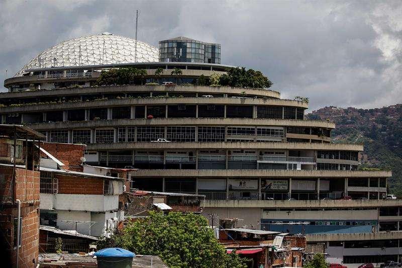 Fotografía del edificio El Helicoide, sede del Servicio Bolivariano de Inteligencia (Sebin) en Caracas (Venezuela). EFE Archivo