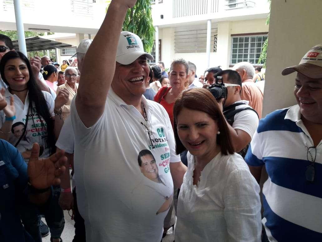 Sergio 'Chello' Gálvez gana distrital de Panamá Centro en Cambio Democrático.