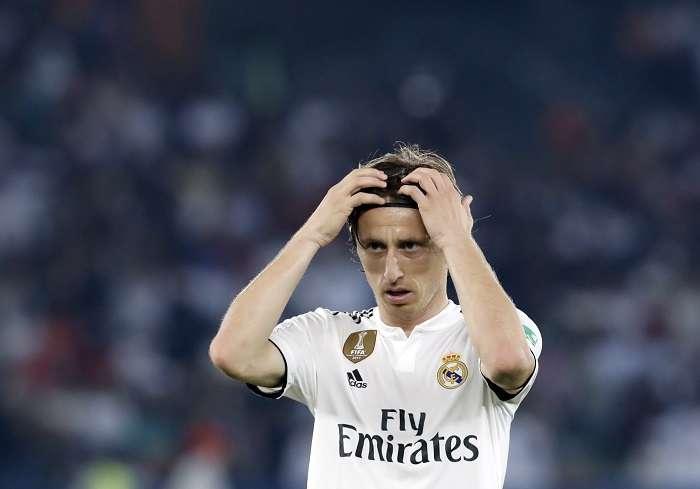 Luka Modric, mediocampista del Real Madrid./AP