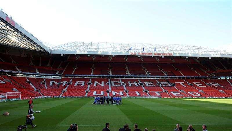 Vista del estadio Old Trafford de Manchester, Reino Unido. EFEArchivo
