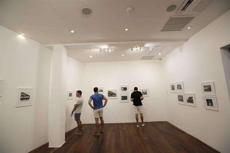Fotografía del 22 de septiembre de 2018, la exposición fotográfica de la artista mexicana Graciela Iturbide en Ciudad de Panamá (Panamá). EFE