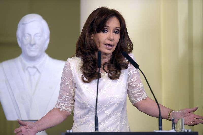 En la imagen, la expresidenta argentina Cristina Fernández de Kirchner. EFEArchivo