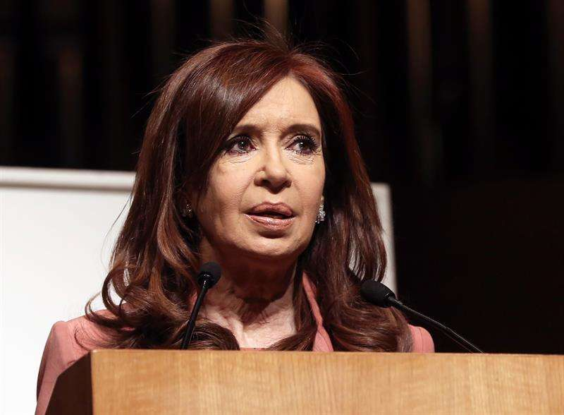 En la imagen, la expresidenta argentina y actual senadora Cristina Fernández. EFEArchivo