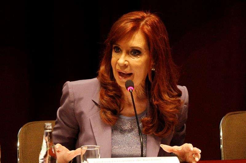 En la imagen, la expresidenta de Argentina Cristina Fernández de Kirchner. EFE/Archivo