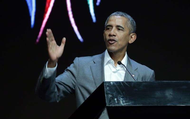 En la imagen, el expresidente estadounidense Barack Obama. EFE/Archivo