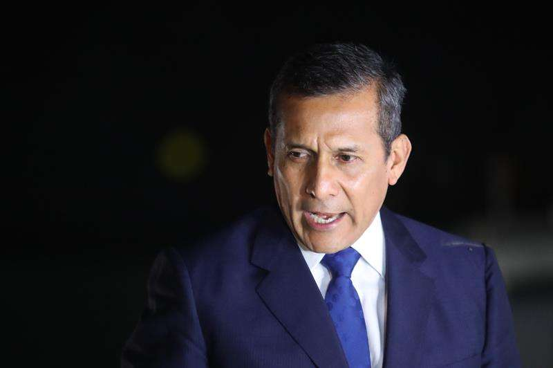 El expresidente peruano Ollanta Humala. EFEArchivo
