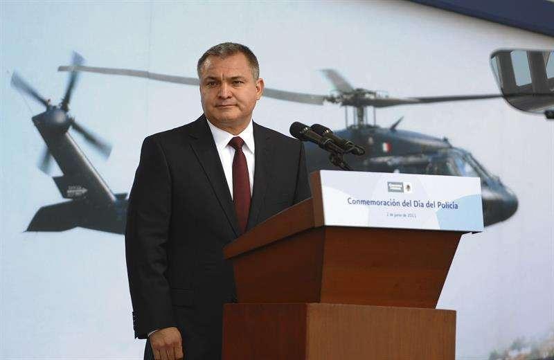 En la imagen, el exsecretario de Seguridad Pública (SSP) de México Genaro García Luna. EFE/Archivo